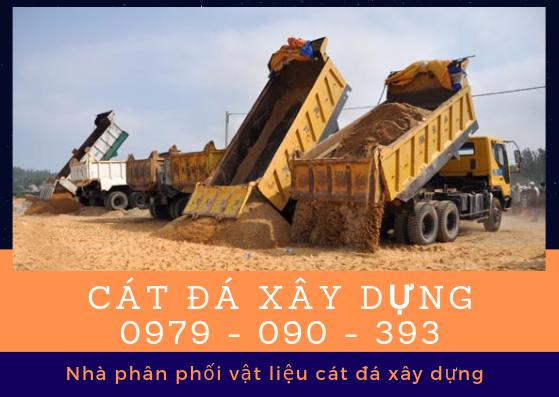 Giá cát đá xây dựng 24H tại TpHCM