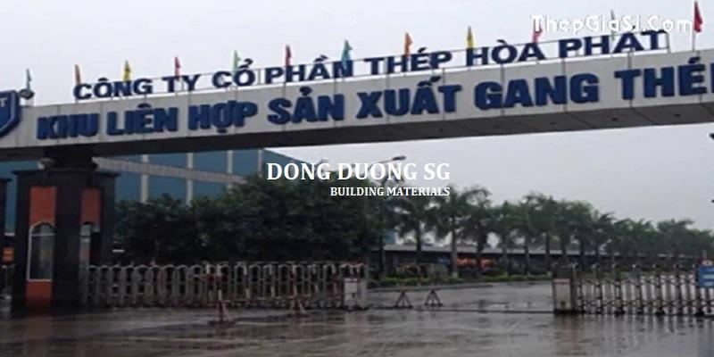 Bảng báo giá thép Hòa Phát tháng 11/2018