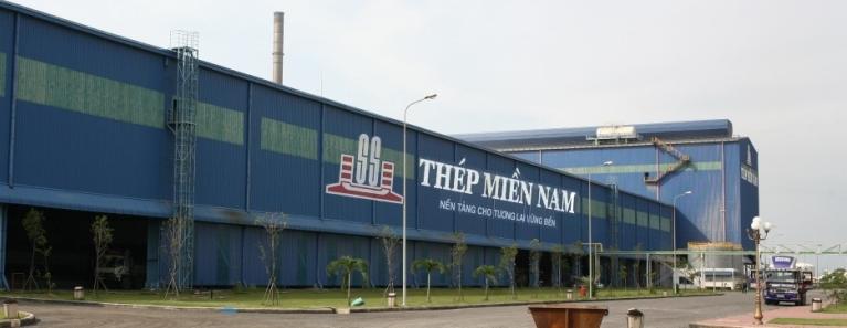 Giá sắt thép Miền Nam tháng 12/2019