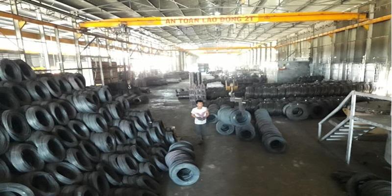 Nhà máy sản xuất đinh kẽm buộc - Giá Sắt Thép Vn .Com